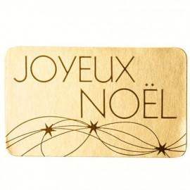 """lot 50 ou 100 etiquettes """"joyeux noel"""""""