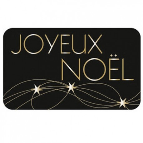 """lot 50 ou 100 etiquettes """"joyeux noel """""""