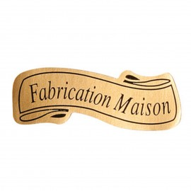"lot de 50 ou 100 etiquettes ""fabrication maison"""