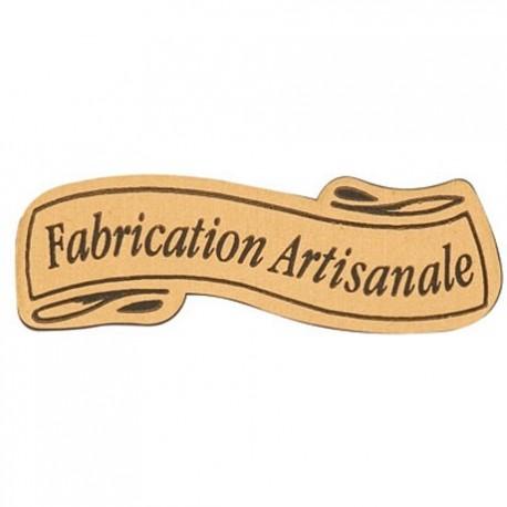 """lot de 50 ou 100 étiquettes """"fabrication artisanale"""""""