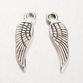 Lot de 10 breloques pendentifs aile ange