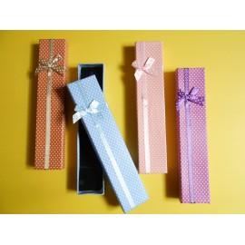 lot 4 boites écrins vichy petite montre ou bracelet