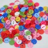 lot 50 boutons 11 mm 2 trous
