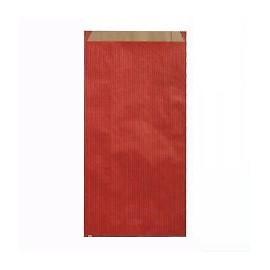 Pochettes cadeau papier kraft rouge