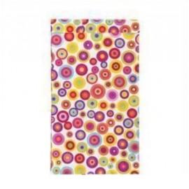 Pochettes cadeau papier kraft motifs ronds et points