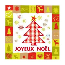 """lot de 50 ou 100 etiquettes """"joyeux noel"""""""