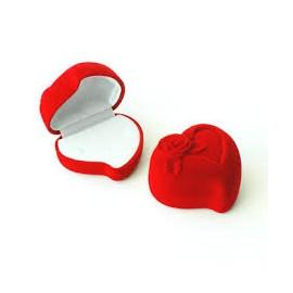 écrin coeur rouge