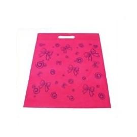 1 sac tissu fantaisie rose fushia