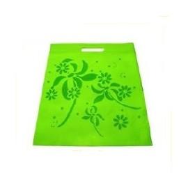 1 sac tissu fantaisie vert