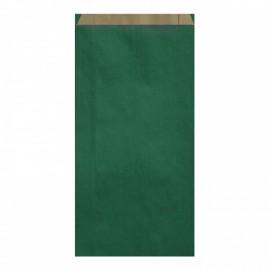 Pochettes cadeau papier kraft vert