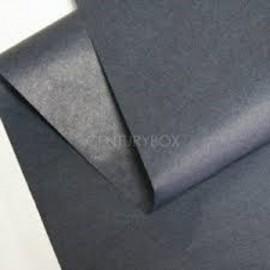 lot feuilles de soie papier mousseline gris