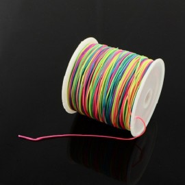 cordon nylon multicolore